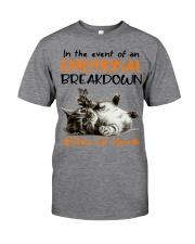 Place Cat Classic T-Shirt front