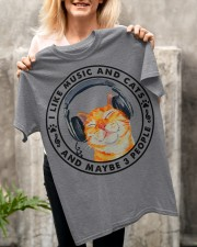 Cat music Classic T-Shirt apparel-classic-tshirt-lifestyle-front-117