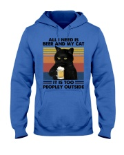 All I Need Is Beer And My Cat Hood