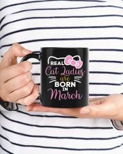 Real Cat Ladies born in March Mug ceramic-mug-lifestyle-35