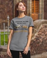 Make a cat Classic T-Shirt apparel-classic-tshirt-lifestyle-06