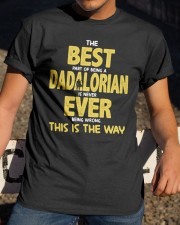 Best Dadalorian Ever Classic T-Shirt apparel-classic-tshirt-lifestyle-28