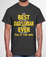 Best Dadalorian Ever Classic T-Shirt garment-tshirt-unisex-front-03