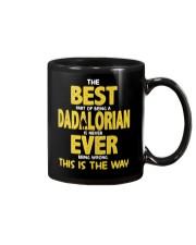 Best Dadalorian Ever Mug thumbnail