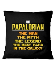 Papalorian The Man The Myth The Legend Square Pillowcase tile