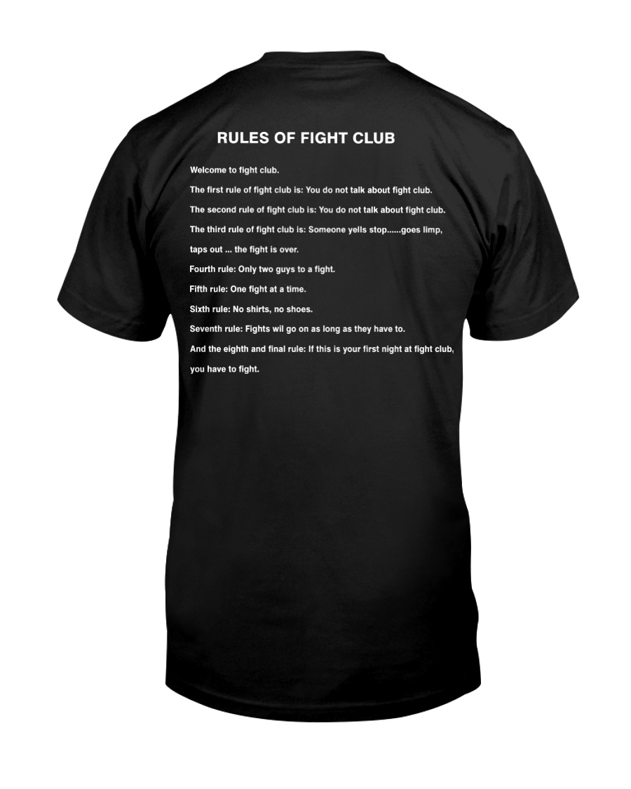 Rules Of The Fight Club Classic T-Shirt
