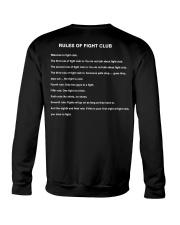 Rules Of The Fight Club Crewneck Sweatshirt thumbnail