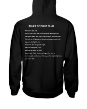 Rules Of The Fight Club Hooded Sweatshirt thumbnail