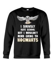 I Siriusly Hate School Crewneck Sweatshirt thumbnail