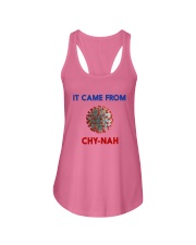 It Came From Chy-Nah Ladies Flowy Tank thumbnail
