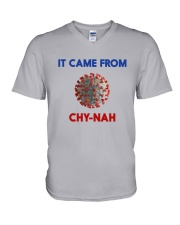 It Came From Chy-Nah V-Neck T-Shirt thumbnail