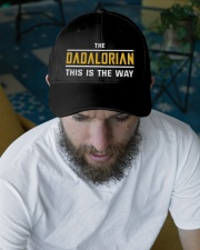 The Dadalorian Embroidered Hat garment-embroidery-hat-lifestyle-06