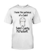 Saint Cunty McFuckoff Classic T-Shirt thumbnail