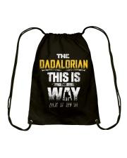 The Dadalorian This Is The Way I Have Spoken Drawstring Bag thumbnail