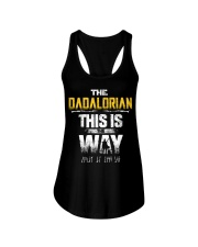 The Dadalorian This Is The Way I Have Spoken Ladies Flowy Tank thumbnail