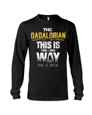The Dadalorian This Is The Way I Have Spoken Long Sleeve Tee thumbnail