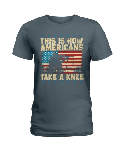 This Is How Americans Take A Knee