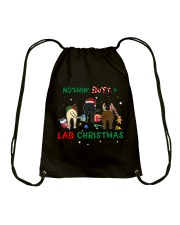 Nothing Butt A Lab Christmas Drawstring Bag tile