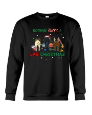 Nothing Butt A Lab Christmas Crewneck Sweatshirt tile