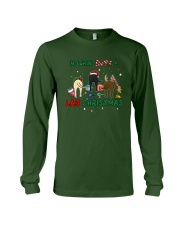 Nothing Butt A Lab Christmas Long Sleeve Tee front