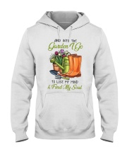 And Into The Garden I Go  Hooded Sweatshirt thumbnail