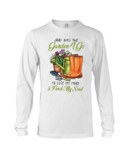 And Into The Garden I Go  Long Sleeve Tee tile