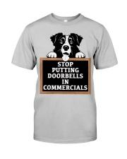 Stop Putting Doorbells in Commercials Classic T-Shirt front