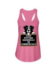 Stop Putting Doorbells in Commercials Ladies Flowy Tank thumbnail