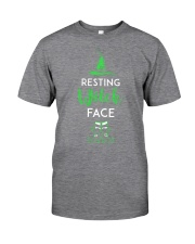Resting Witch Face Oz Classic T-Shirt front
