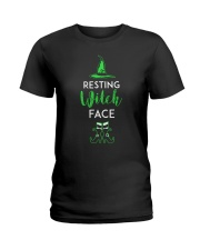 Resting Witch Face Oz Ladies T-Shirt thumbnail
