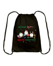 Nothing Butt A Westie Christmas Drawstring Bag thumbnail