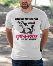 Cowasocky Funny Shirt Classic T-Shirt apparel-classic-tshirt-lifestyle-front-50
