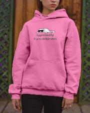 Aggressively Purrcatstinates Hooded Sweatshirt apparel-hooded-sweatshirt-lifestyle-front-03