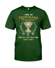 I won the Triwizard Tournament Classic T-Shirt tile