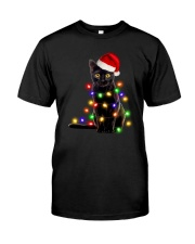 Meowy Christmas Classic T-Shirt front