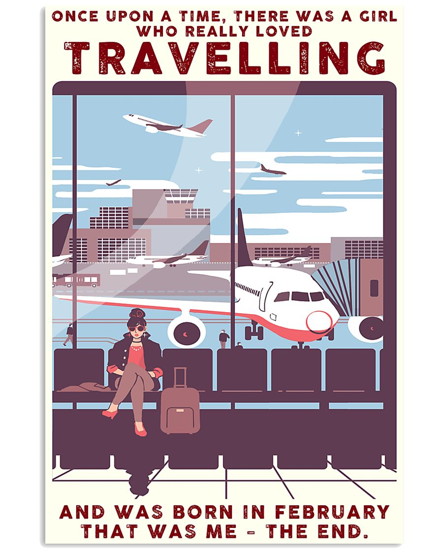 Travelling girl - february 24x36 Poster