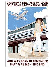 Travelling girl - November 24x36 Poster front