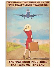 Travelling girl - October 24x36 Poster front