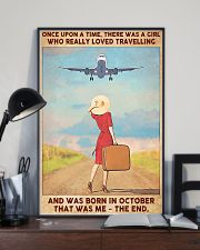 Travelling girl - October 24x36 Poster lifestyle-poster-2