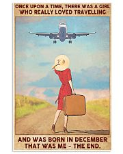 Travelling girl - December 24x36 Poster front
