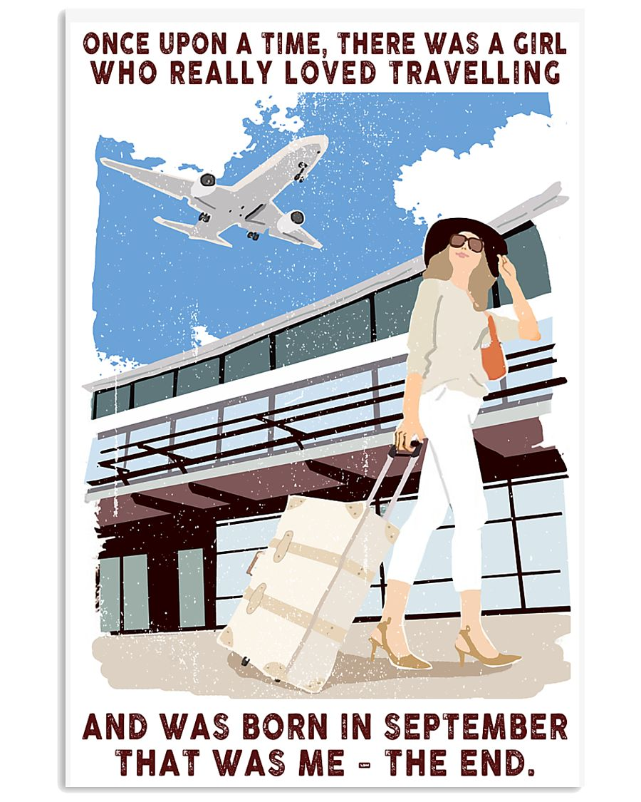 Travelling girl - september 24x36 Poster