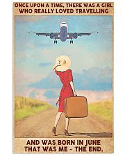 Travelling girl - June 24x36 Poster front