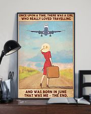 Travelling girl - June 24x36 Poster lifestyle-poster-2