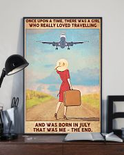 Travelling girl - July 24x36 Poster lifestyle-poster-2