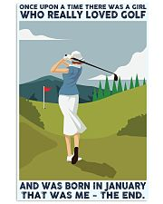 Once Upon A Time GOlf Girl January 24x36 Poster front