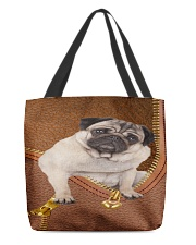 Pug Phoncase All-over Tote thumbnail