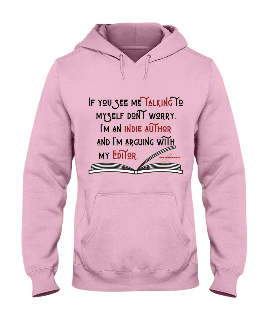 Talking To My Editor Hooded Sweatshirt