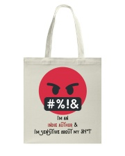 Sensitive Shyt Tote Bag thumbnail