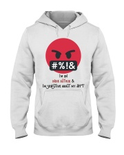 Sensitive Shyt Hooded Sweatshirt tile