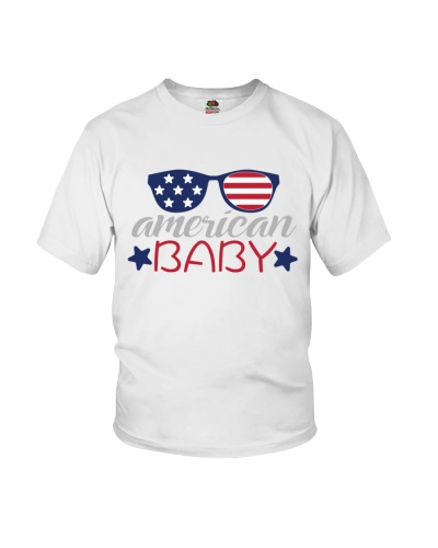American Baby - 4th of july shirt